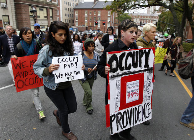 """Occupy"" protests enter their 4th week"