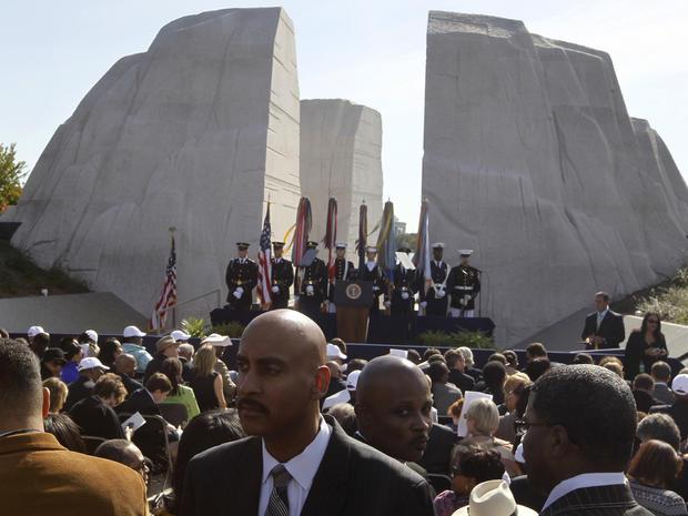 MLK, Jr. Memorial dedication