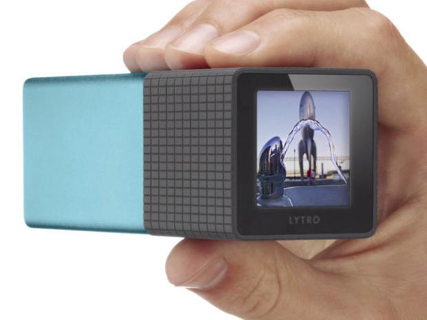 "The Lytro camera takes ""living pictures"""