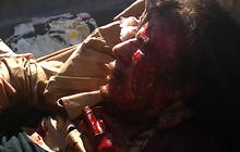 GRAPHIC VIDEO: Rebels keep Qaddafi alive after capture