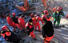 Major earthquake strikes Turkey