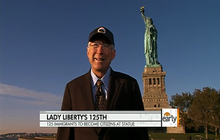 Interior Sec'y. on Lady Liberty's upgrades