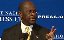 Cain acknowledges past sexual harassment settlement