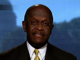Cain denies sexual harassment claims