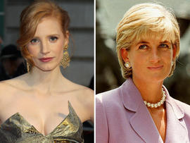 Jessica chastain to star in princess diana affair film Diana princess of wales affairs