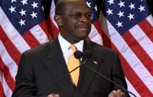 Cain: I don't even know that woman
