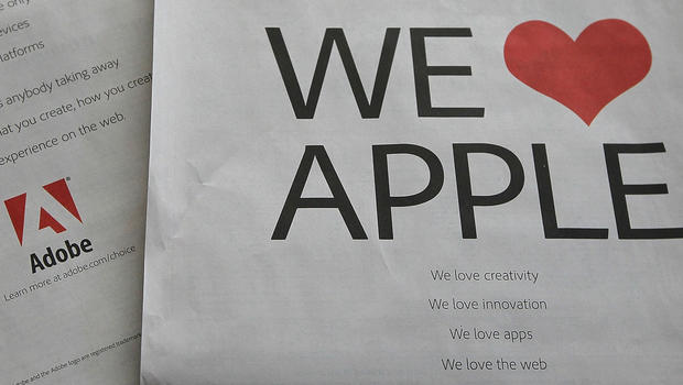 san francisco may 13 a full page ad by adobe systems is displayed on the back of the san francisco chronicle business section may 13 adobe san francisco