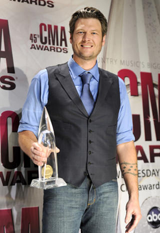 2011 CMA Awards press room