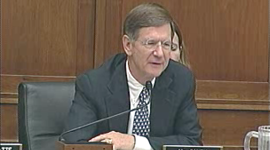 House Judiciary chairman Lamar Smith (R-Tex.) has invited five supporters of SOPA to testify tomorrow, but only one opponent.