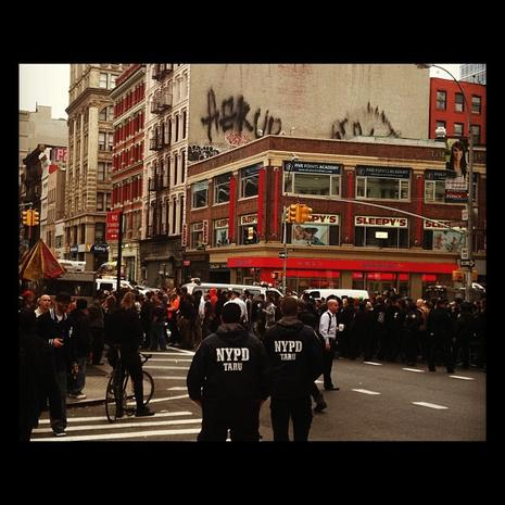 Occupy Wall Street eviction Instragrams