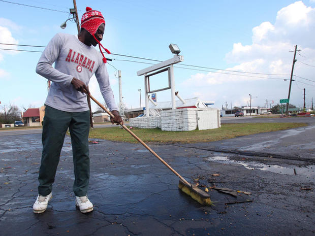 Southeast battered by storms
