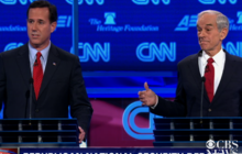 Santorum supports racial profiling; Paul shocked