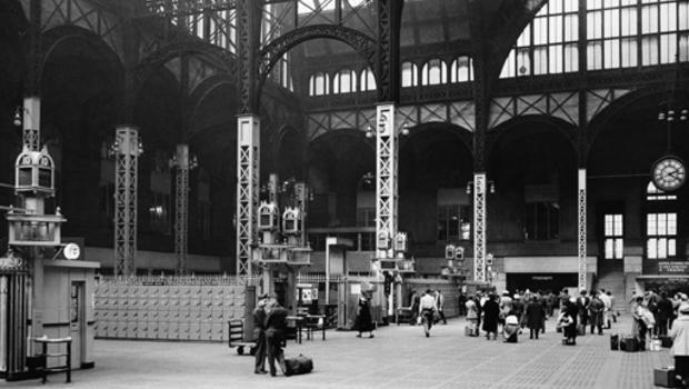 New York's strange Penn Station