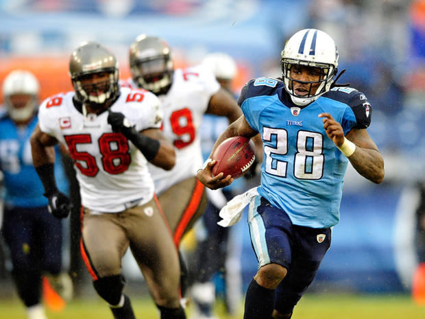 Top 2012 fantasy football players