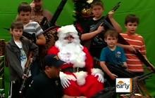Nothing says Christmas like an AK-47