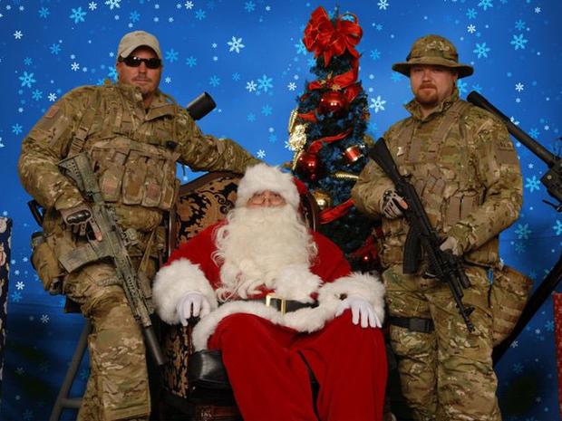 """""""Santa and Machine Guns"""" photos"""