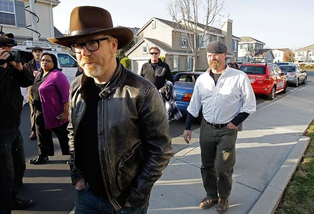 """MythBusters"" cannon misfires"