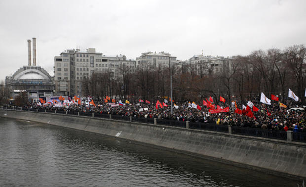 Russians protest Putin, election fraud