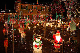 Christmas 2011: Best outdoor Christmas lights