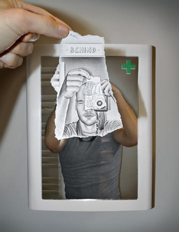 """Pencil Vs Camera"" blends drawing and photography"