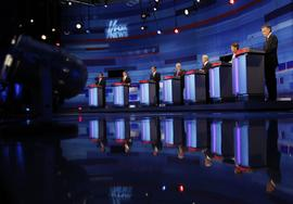 GOP debate, Republicans, Iowa