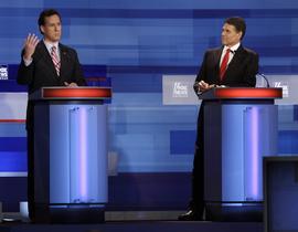 Rick Santorum, Rick Perry