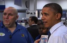 FULL: Obama goes Christmas shopping