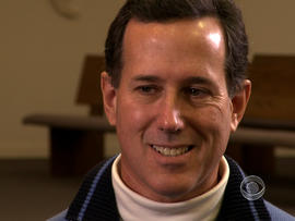 Poll puts Santorum in Iowa top 3