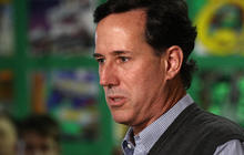 Santorum spikes as Iowa caucuses draw near