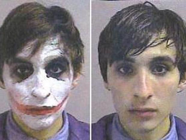 Wacky criminals, wild crimes