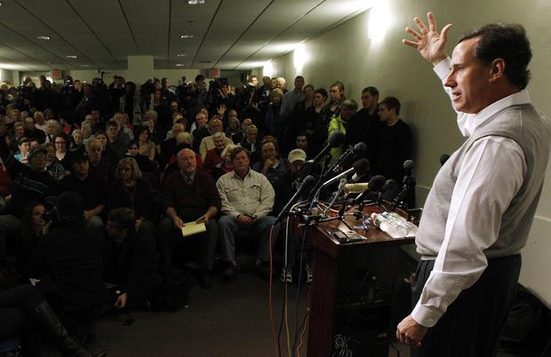 Rick Santorum in New Hampshire