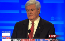 Paul challenges Gingrich on military service