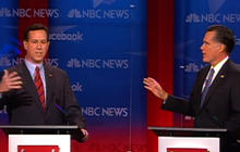 Gingrich slams Romney over political history