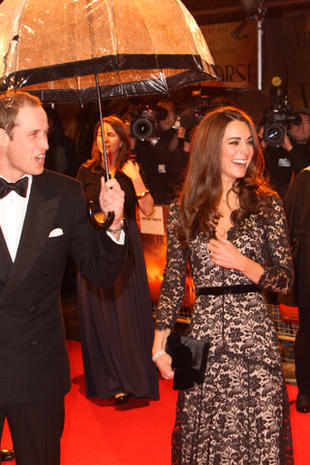 "Will and Kate at ""War Horse"" royal premiere"