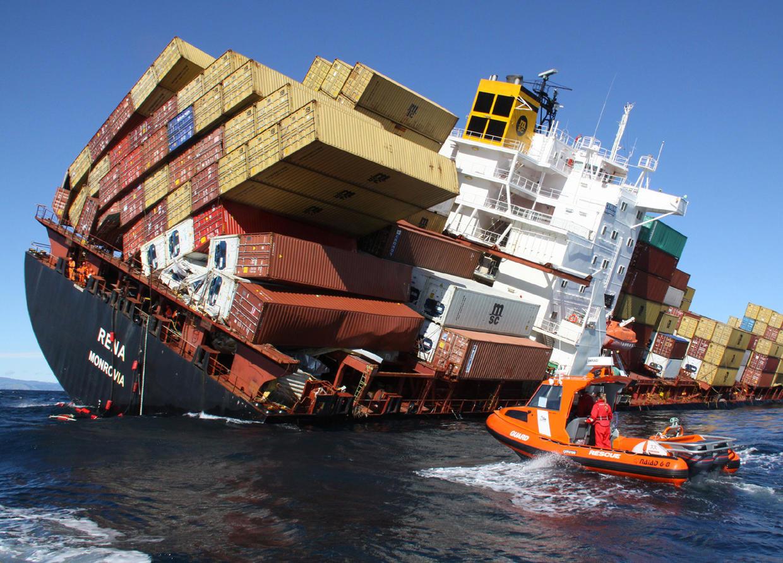 Cargo ships cars