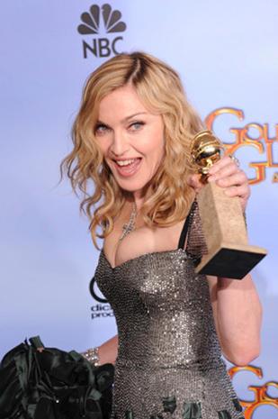 Golden Globes 2012 press room