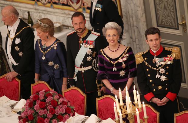 Queen Margrethe's 40th anniversary on Denmark's throne