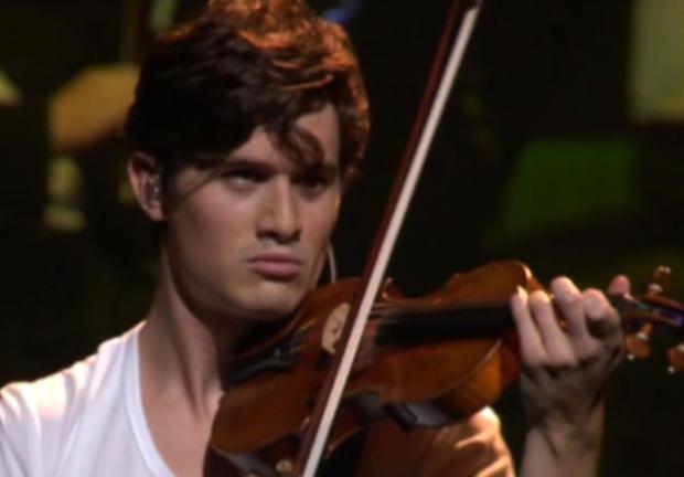 Charlie Siem, violin virtuoso and model