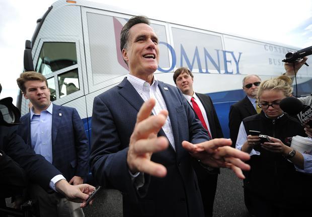 Mitt Romney campaigning in South Carolina
