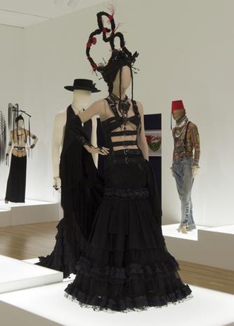 Jean Paul Gaultier on exhibit
