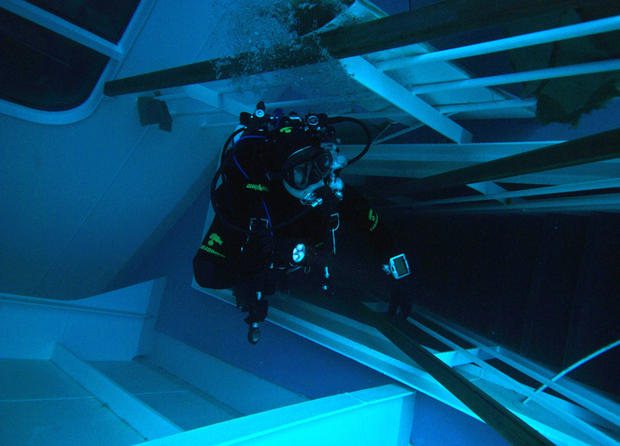 Inside the Costa Concordia wreck