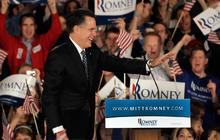 How did Mitt Romney fall behind?