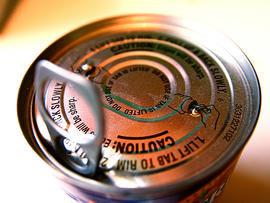 canned soup, can, bpa