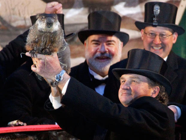 Groundhog Day 2012 in Punxsutawney