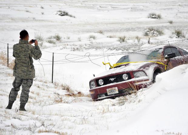 Major Western winter storm heads East