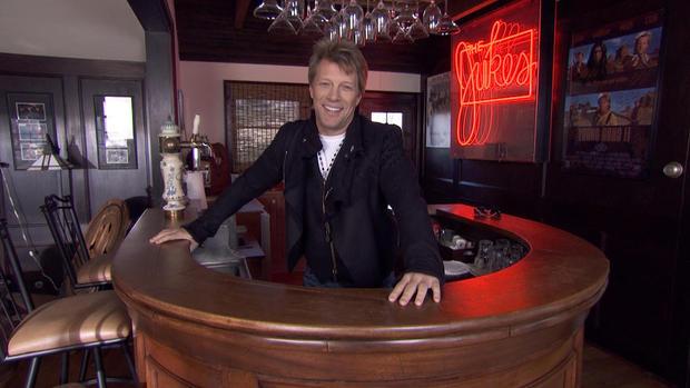 """Jon Bon Jovi's """"humble abode"""""""