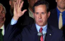 Santorum speaks after projected wins in Mo., Minn.