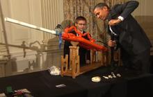 Obama hosts White House science fair