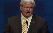 "Gingrich attacks ""Republican establisment"" at CPAC"