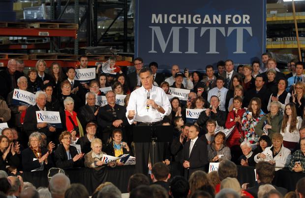 Mitt Romney, Michigan